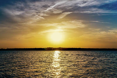 Photograph - Sun On The Lake by Doug Long