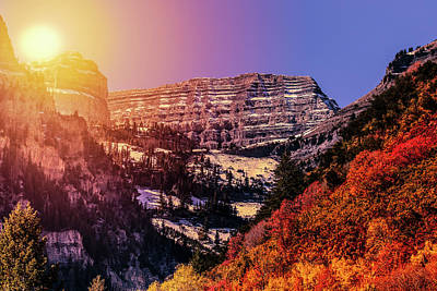Photograph - Sun On The Mountain by Boyce Fitzgerald
