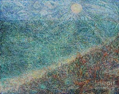 Painting - Sun Over The Azov Sea by Anna Yurasovsky