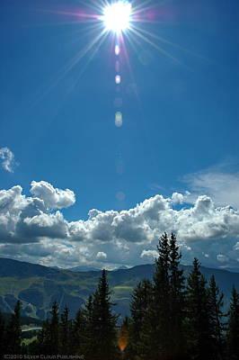 Photograph - Sun Over Tougnete by Francois Dumas