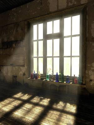 Glow Digital Art - Sun Patch by Cynthia Decker