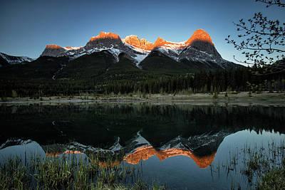 Photograph - Sun Peaks by Celine Pollard