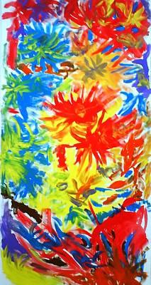 Pai Painting - Sun by Petar Petrov