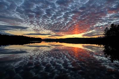 Photograph - Sun Pillar At Sunset by John Meader