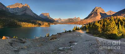 Photograph - Sun Point Sunrise Panorama by Adam Jewell
