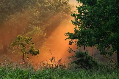 Photograph - Sun Rays by Kathryn Meyer