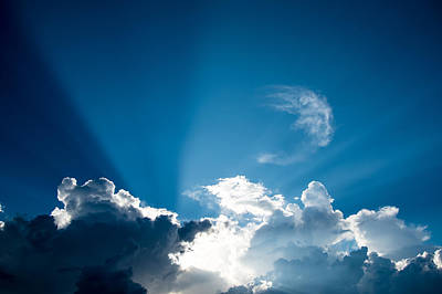 Photograph - Sun Rays by Norchel Maye Camacho