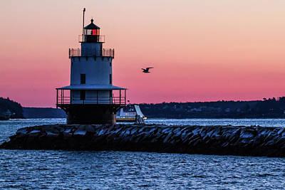 Photograph - Sun Rise At Spring Point by Darryl Hendricks