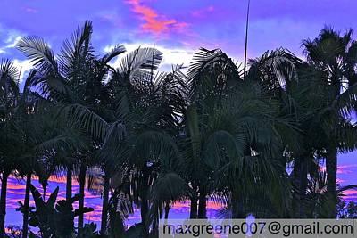 Photograph - Sun Rise by Max  Greene