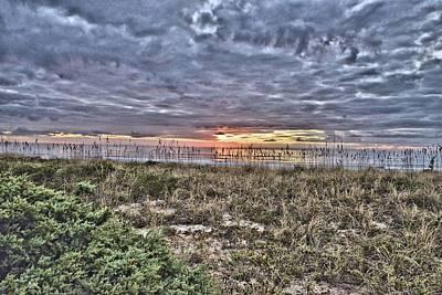 Photograph - Sun Rise On The Beach by Bill Hosford