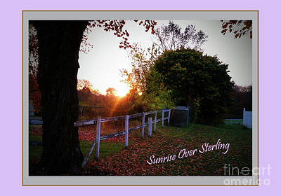 Photograph - Sun Rise Over Sterling by Rita Brown