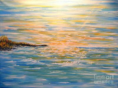 Painting - Sun Rise Sun Set by Greg Moores