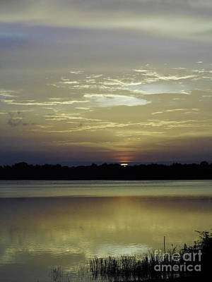 Photograph - Sun Rising At The Lake by D Hackett