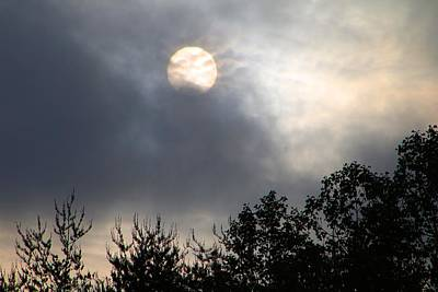 Photograph - Sun Rising In The Clouds by Kathryn Meyer