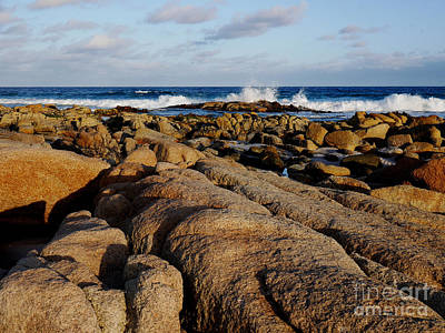 Photograph - Sun Rising On Friendly Beach by Lexa Harpell