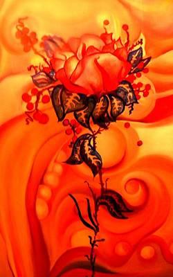 Painting - Sun Rose by Jordana Sands