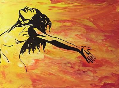 Sun Salutations Painting - Sun Salutation by Marla Bender