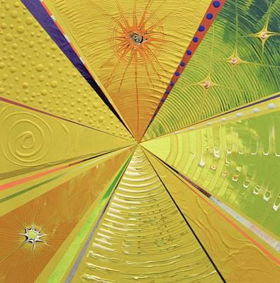 Mindfulness Painting - Sun Salutations by Martin Cervantez