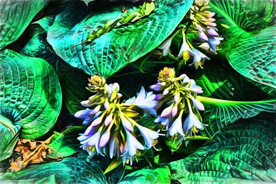 Digital Art - Sun Seeking Flora by Terry Cork