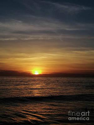 Photograph - Sun Set Away by Fei A