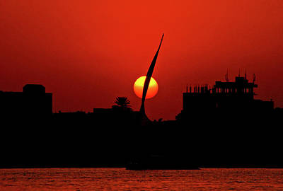 Photograph - Sun Set by Chaza Abou El Khair
