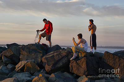 Photograph - Sun Set Shooters by Bob Brents