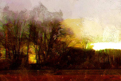 Photograph - Sun Set The Woods On Fire by Spyder Webb