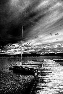 Photograph - Sun Setting On 4th Lake by David Patterson