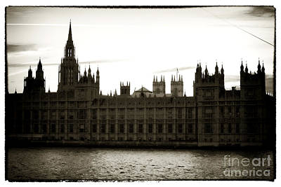 Photograph - Sun Setting On Parliament by John Rizzuto