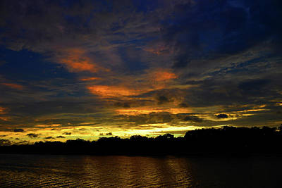Photograph - Sun Setting Over Florida by David Lee Thompson