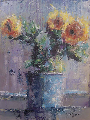 Pallet Knife Painting - Sunshine by John Henne