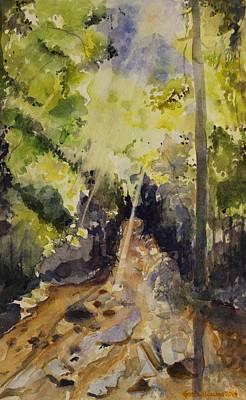 Painting - Sun Shines Through by Geeta Biswas