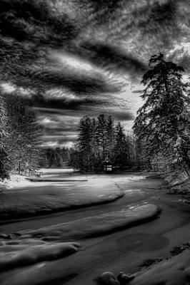 The Shins Photograph - Sun Shinning On Beaver Brook by David Patterson