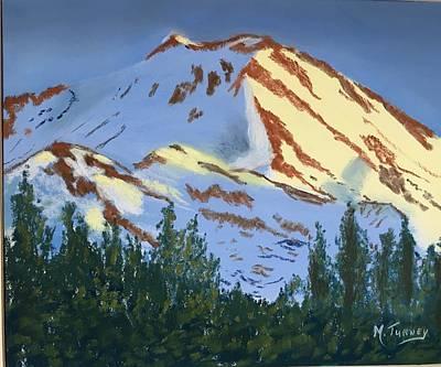 Pastel - Sun Snow by Michele Turney