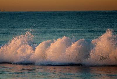 Photograph - Sun-soaked Waves  by Christy Pooschke