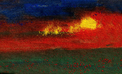 Painting - Sun Sparks by R Kyllo