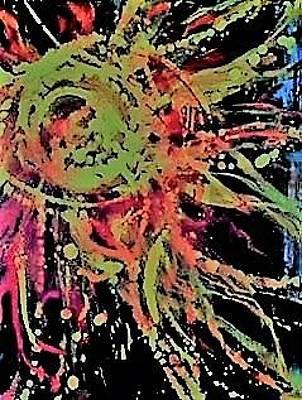 Painting - Sun Burst II by Debbie Frame Weibler