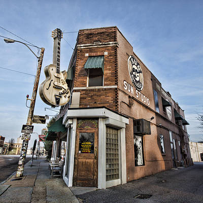 Rhythm And Blues Photograph - Sun Studio - Memphis #1 by Stephen Stookey