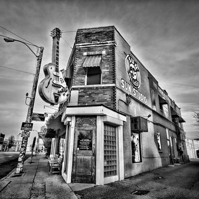 Rock And Roll Royalty-Free and Rights-Managed Images - Sun Studio - Memphis #2 by Stephen Stookey