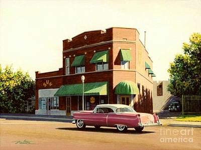 Tn Painting - Sun Studio Memphis by Frank Dalton