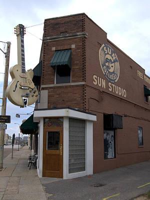 Sun Studio Memphis Tennessee Art Print by Wayne Higgs