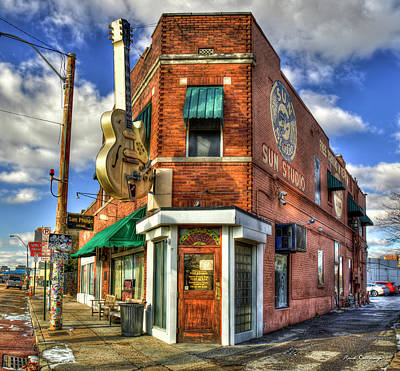 Photograph - Sun Studio Rock N Roll Birthing Place Memphis Tennessee Art by Reid Callaway