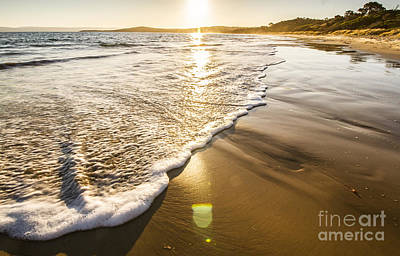 Sun Surf And Waves Art Print by Jorgo Photography - Wall Art Gallery