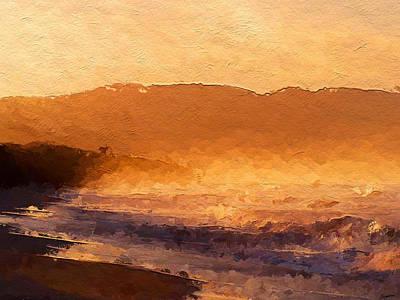 Beach Digital Art - Sun Swept  by Anthony Fishburne