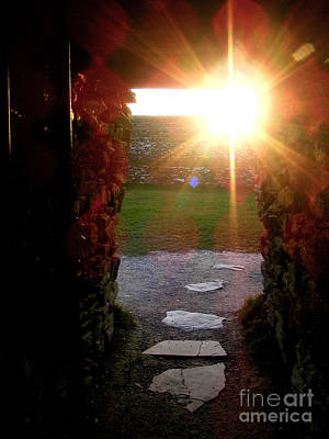 Photograph - Sun Temple Entrance  by Nina Ficur Feenan
