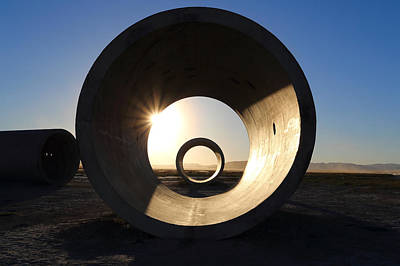 Photograph - Sun Tunnel Warp Up by David Andersen