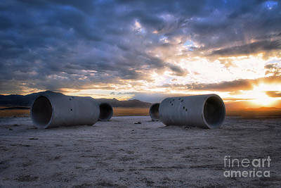 Photograph - Sun Tunnels 2 by Roxie Crouch