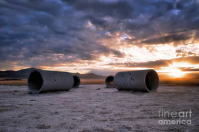Photograph - Sun Tunnels 3 by Roxie Crouch
