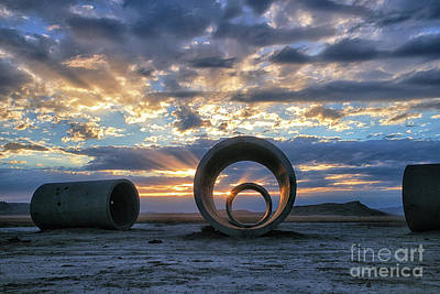 Photograph - Sun Tunnels by Roxie Crouch