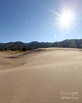 Photograph - Sun Up At Great Dunes National Park by Betty Morgan
